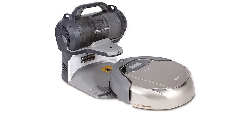 Illustration for article titled A Cordless Canister Vac Lets This Robovac Clean More Than Just Floors
