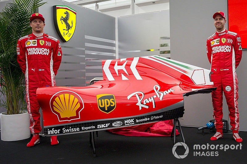 Illustration for article titled This is as close to a Marlboro livery that you're going to get
