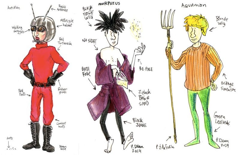 Illustration for article titled Illustrated Cosplay Guide Does All the Work For You