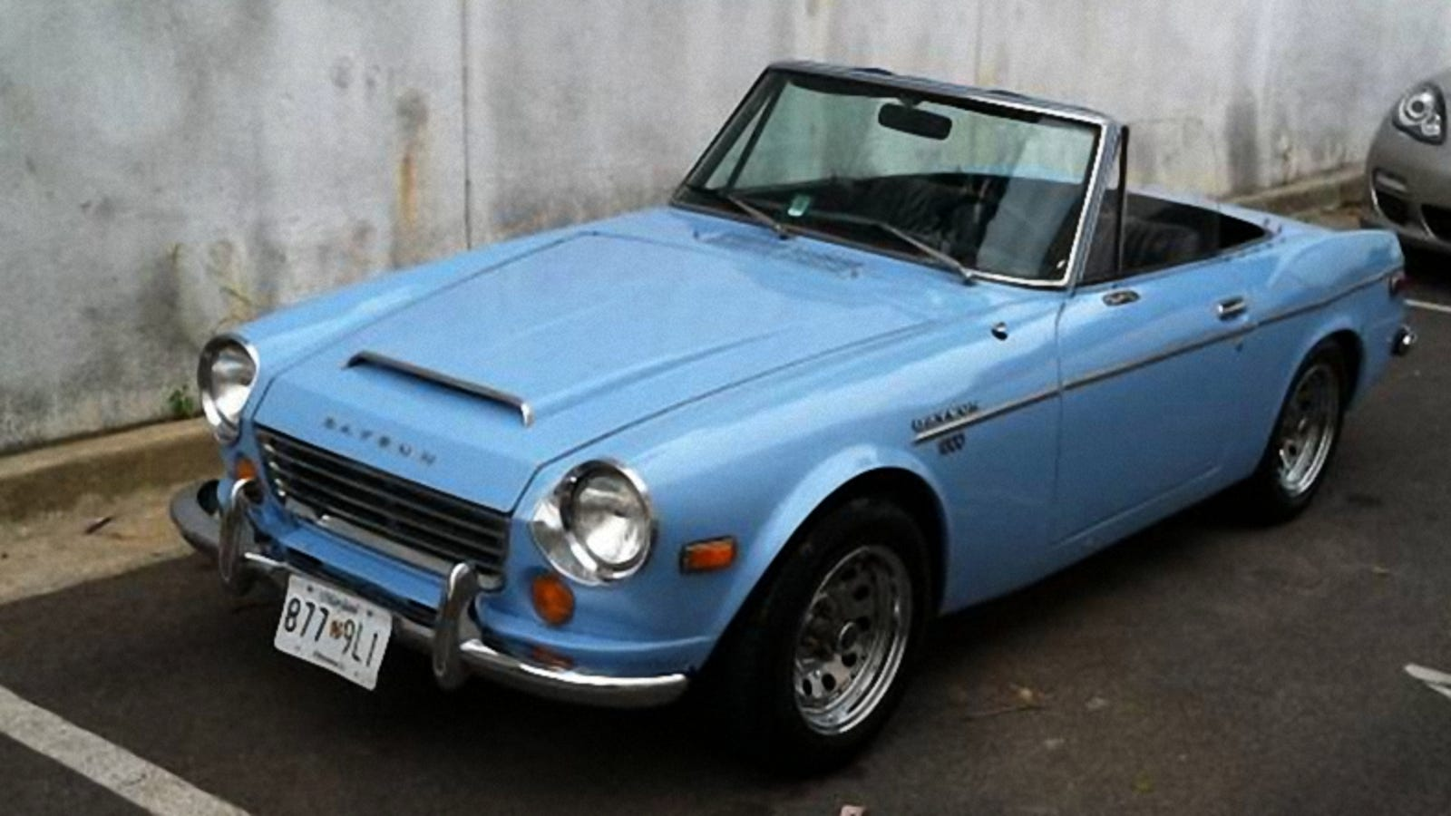 For $5,500, Would You Like To Find This 1970 Datsun 1600 Under Your