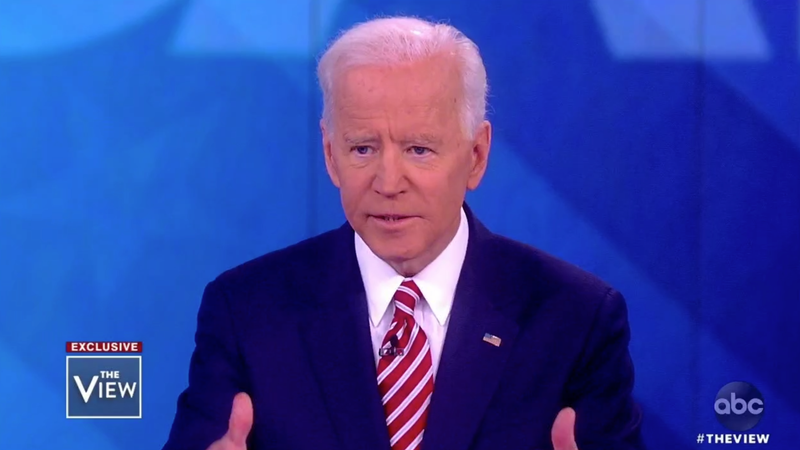 Joe Biden's Fumbling Apology on The View Is a Grim Preview of His Campaign