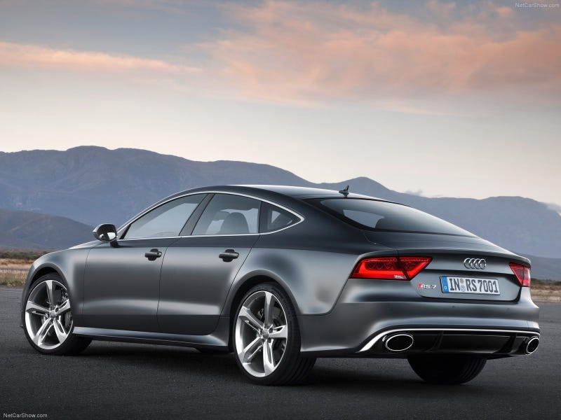 Illustration for article titled Audi RS7