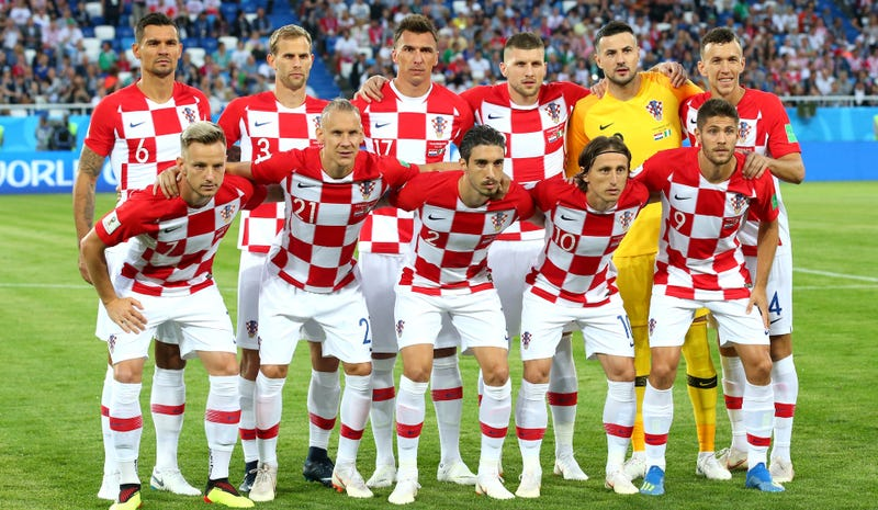 e7e97e6ac84 Dear Croatia, Please Wear Your Extra-Cool Checkerboard Kits In The World Cup  Final [Update]