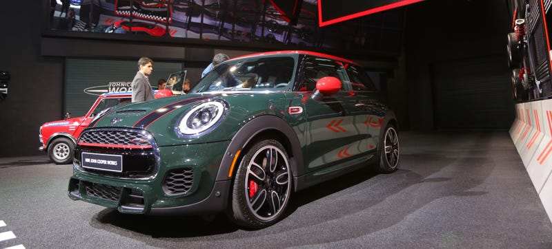 The 2015 Mini John Cooper Works 228 Hp And Bonkers Looks For 30600
