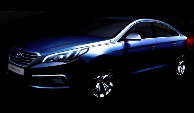 Illustration for article titled The 2015 Hyundai Sonata Will Look Like A Little Genesis