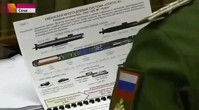 La televisión rusa publica por accidente los planos de un torpedo nuclear secreto