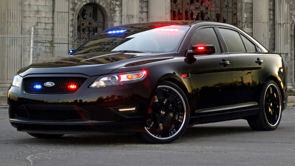 & Fordu0027s Hot Rod Police Interceptor Is The Quickest Cop Car On The Road markmcfarlin.com