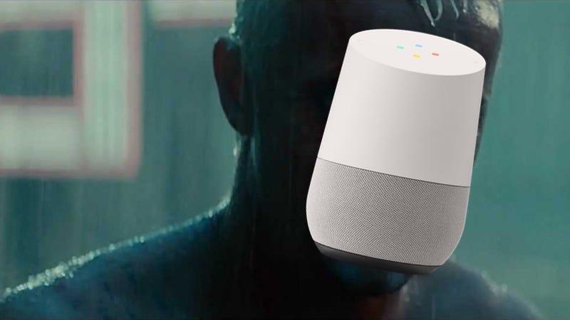 Illustration for article titled Pasa algo escalofriante cuando pones el tráiler de Blade Runner 2049 y el último anuncio de Google Home a la vez