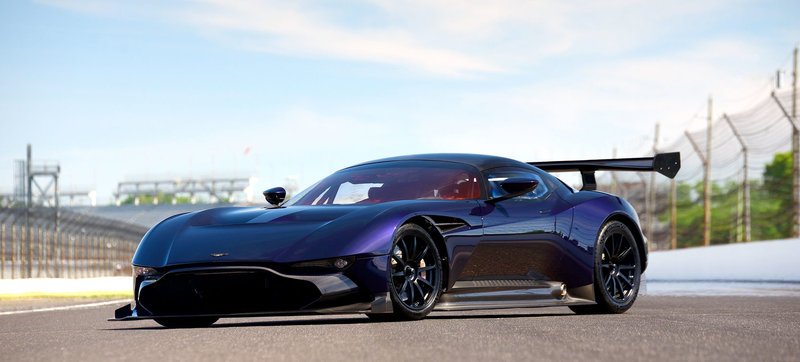 Illustration for article titled Today I Learned that the Aston Martin Vulcan Looks Fucking Amazing in Purple
