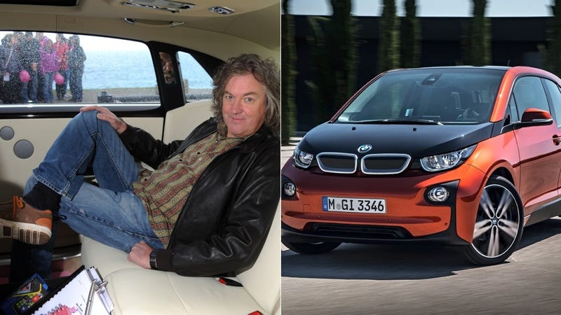Illustration for article titled Top Gear's James May Joins Dark Side And Buys A BMW i3