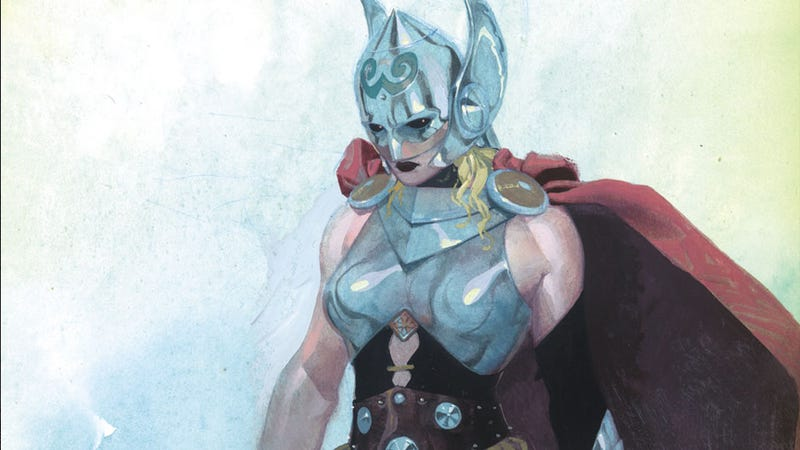 Illustration for article titled The New Thor Has Some Words (And Fists) For Misogynist Bad Guys