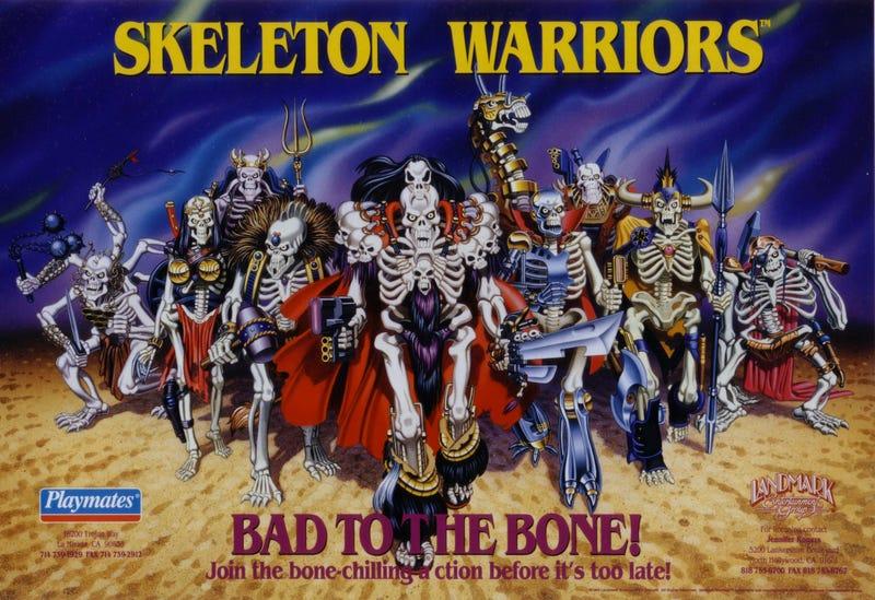 Illustration for article titled Skeleton Warriors