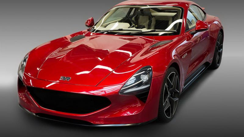 the tvr griffith is finally back with a 500 hp v8 and a manual gearbox. Black Bedroom Furniture Sets. Home Design Ideas