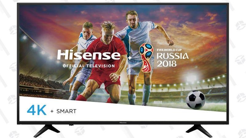 Hisense 60-Inch UHD (2160P) Smart DLED TV | $398 | Walmart
