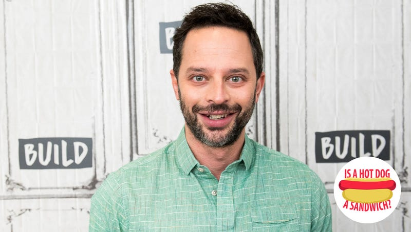 Illustration for article titled Hey Nick Kroll, is a hot dog a sandwich?