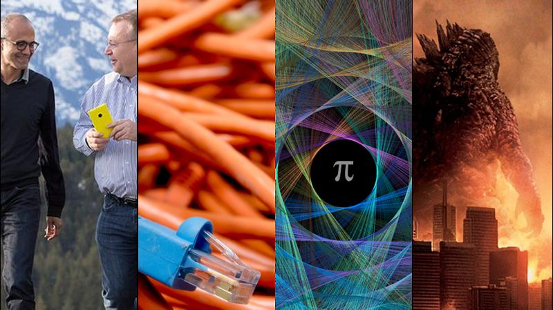 Astrónomos, CVs, número Pi y el adiós a Nokia, lo mejor de la semana