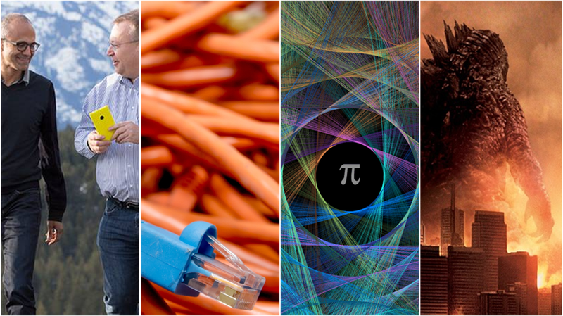 Illustration for article titled Astrónomos, CVs, número Pi y el adiós a Nokia, lo mejor de la semana
