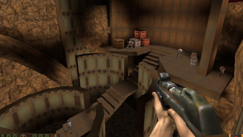 Use Wine 3.0 to get the classic shooter Quake II on your Android device (Souce: Steam)