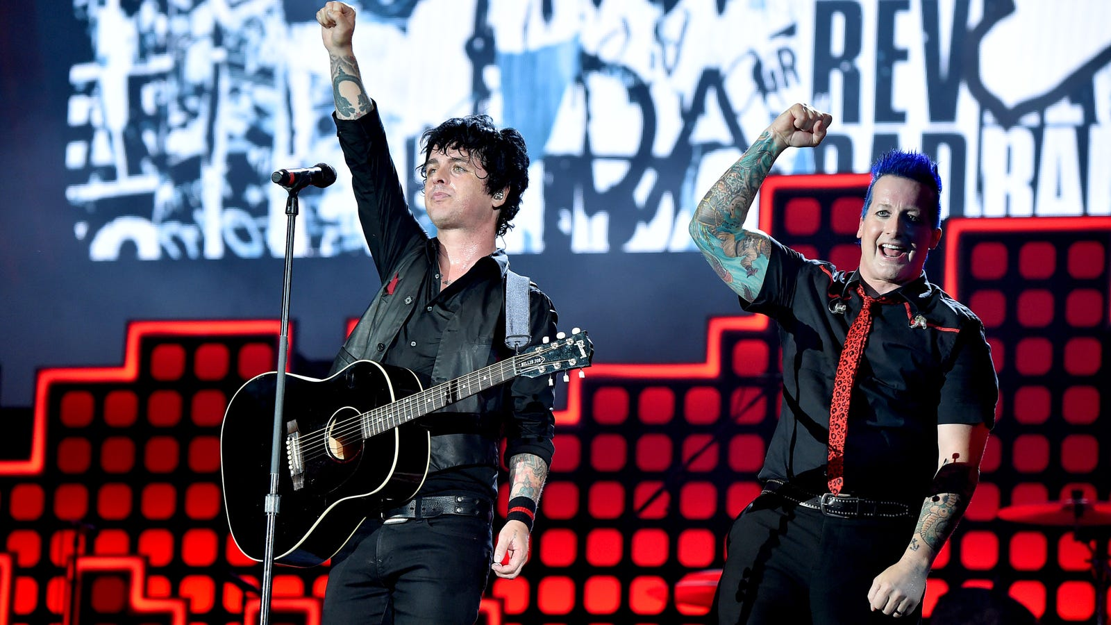 Green Day, Fall Out Boy, and Weezer announce the joint tour your snotty little teenage dreams were made of