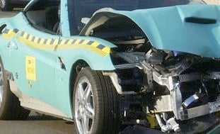Illustration for article titled 2009 Ferrari California Restyled By Crash Test