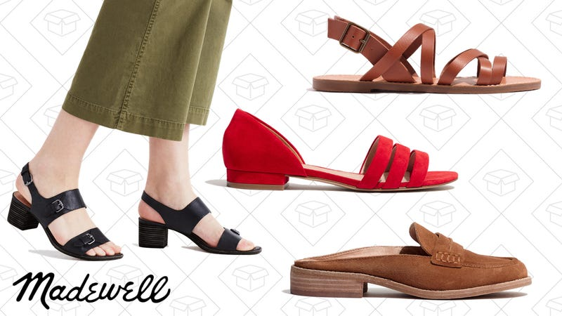 Up to 30% off select footwear