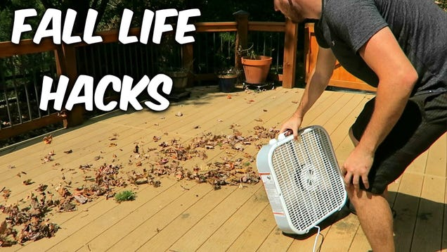 Safely Remove Leaves From Your Gutters With A Homemade