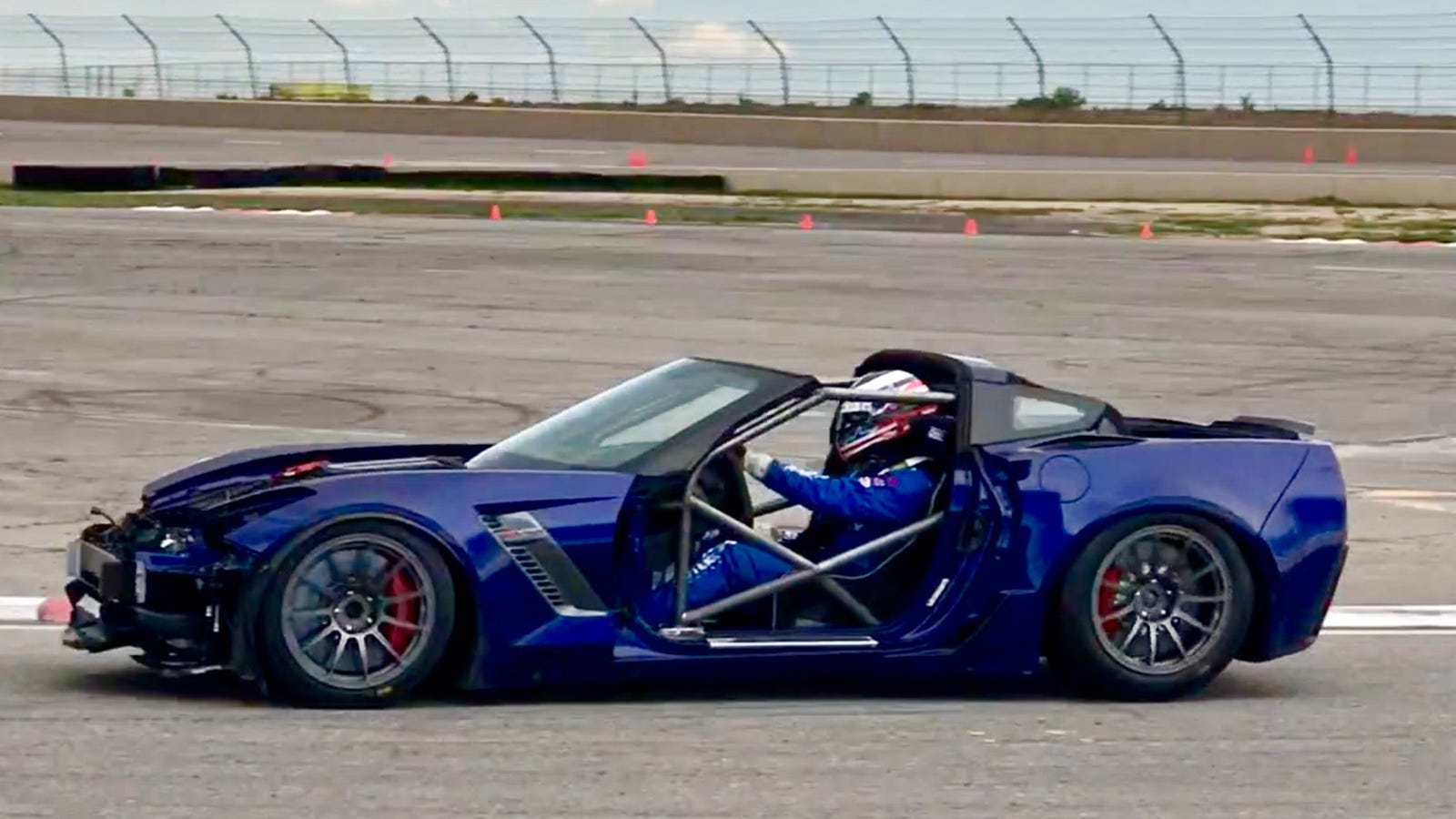 turning a salvage corvette z06 into a race car is a pain in the