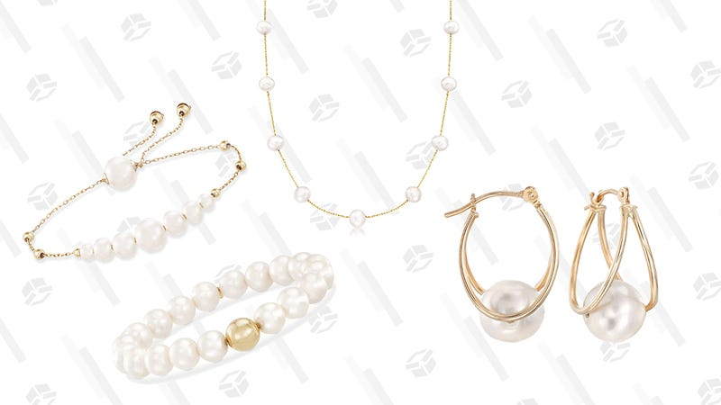 14K Freshwater Pearl Gifts from Ross-Simons Gold Box | Amazon