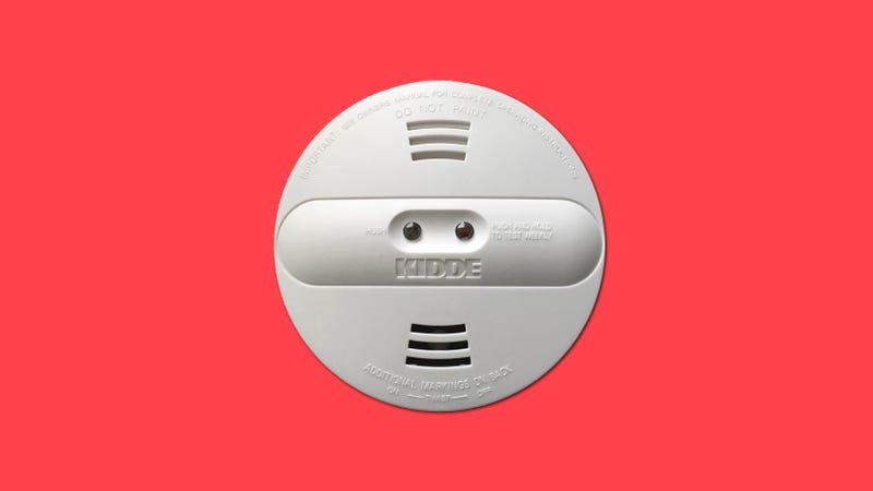Illustration for article titled Dumb Smoke Alarm Recalled Because It Can't Even Detect Smoke