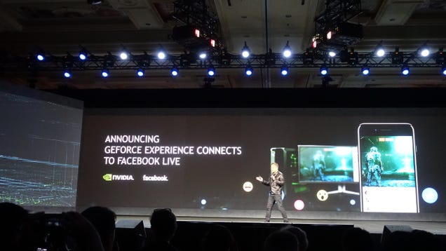 Nvidia Is Bringing Better Game Streaming to Facebook Live