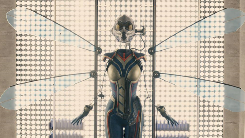 Evangeline Lilly shares new photo of Ant-Man and the Wasp suit