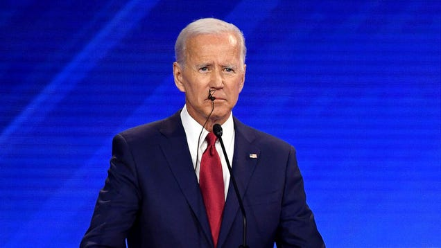 CNN Audio Analysis Reveals Biden Caught On Wet Mic While Chewing On Own Microphone