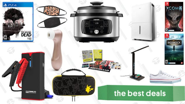 Friday s Best Deals: The Walking Dead Collection, Fashion Face Masks, Midea Dehumidifier, Converse Last Chance Sale, Satisfyer Pro 2 Vibrator, and More