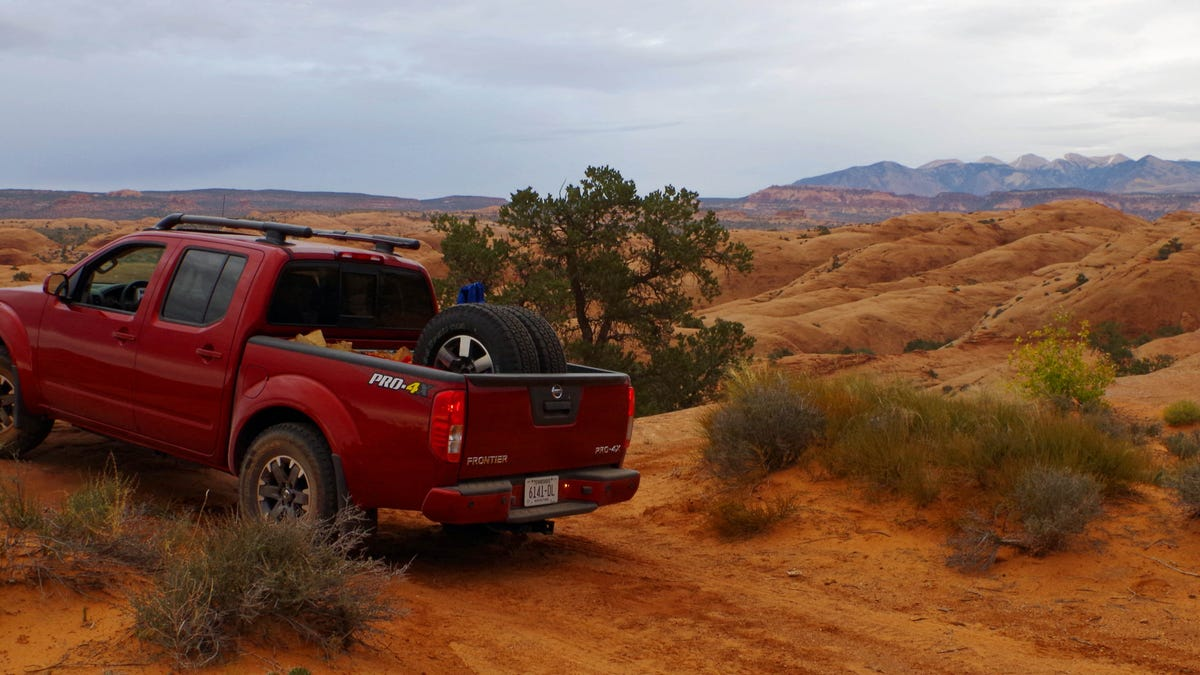 2014 Nissan Frontier Pro 4x Fear And Loathing In Moab Off Road Review Xterra Trailer Hitch Wiring