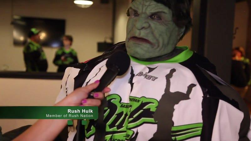 Image via Saskatchewan Rush YouTube