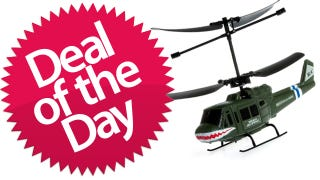 Illustration for article titled This RC Helicopter is Your Let's-Get-High-Pun-Filled Deal of the Day