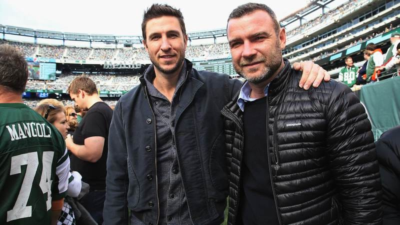 Pablo and Liev Schreiber (Getty Images)