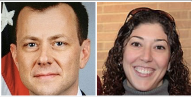 Peter Strzok (Biz Pac Review); Lisa Page (Moritz College of Law)