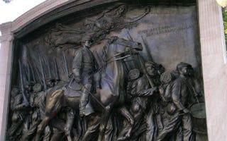 Boston's Robert Gould Shaw Memorial (Courtesy of Lydia Sermons)