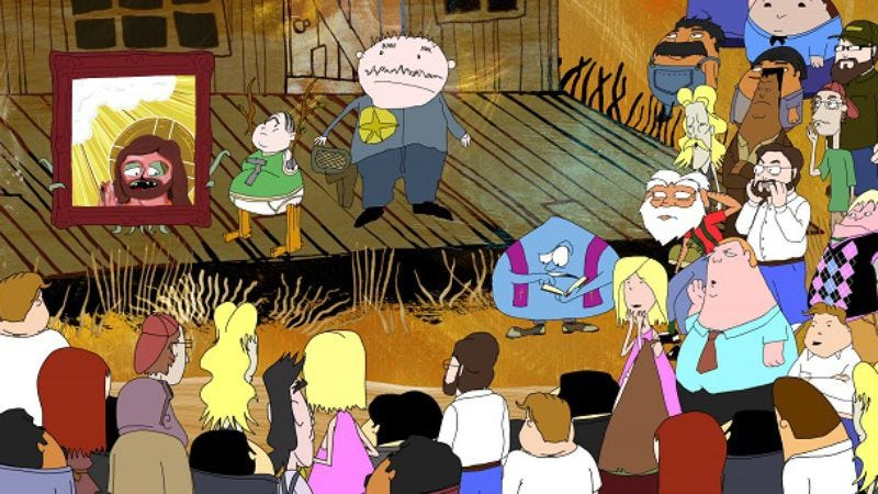 Illustration for article titled Squidbillies