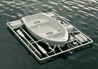 Illustration for article titled A 1:1 Model Kit Boat