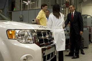Illustration for article titled President Obama Details $2.4 Billion in Grants For Electric Vehicles