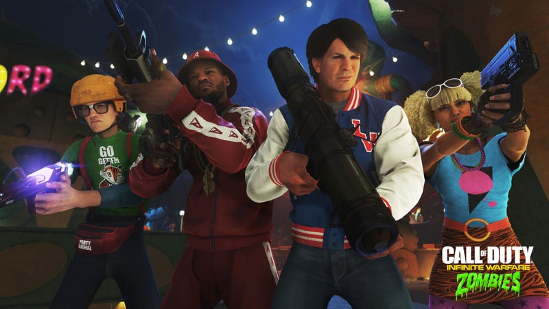 Illustration for article titled Next Call of Duty Has '80s Zombies With David Hasselhoff And Pee-wee Herman