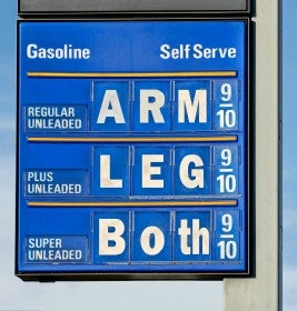 Illustration for article titled Gas hits $4.03 a gallon in Illinois