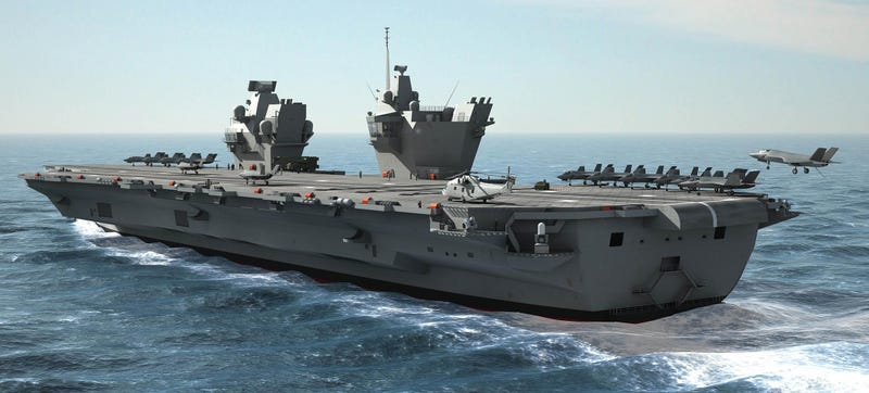 Illustration for article titled Why The US Navy Should Build Smaller Aircraft Carriers