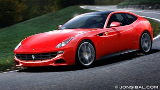 Illustration for article titled Sources: Ferrari's New Supercar A Shooting Brake
