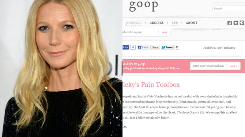 Illustration for article titled Gwyneth Paltrow's Goop Is Bleeding Money and $1.2 Million in Debt
