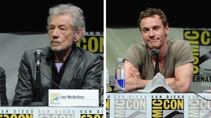 Illustration for article titled Ian McKellen Eyeing Michael Fassbender as Hot, Young Trophy Husband