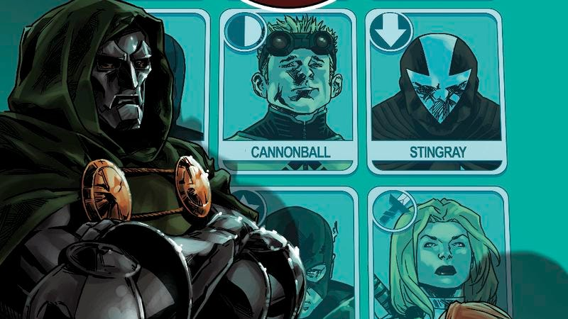 Illustration for article titled Exclusive Marvel preview: Dr. Doom assembles his own team in Avengers World #15