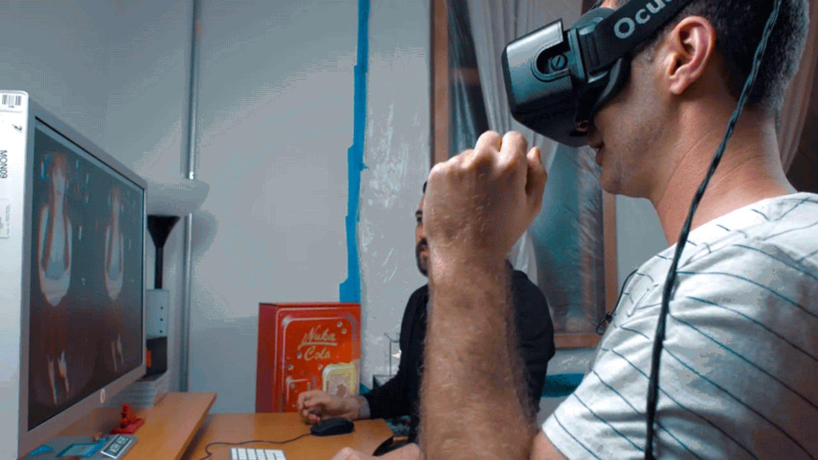 Cómo se graba una película porno en realidad virtual